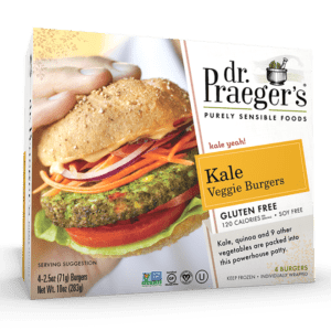 Dr. Praeger's Kale Veggie Burgers