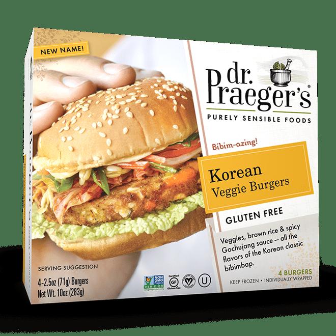 Dr. Praeger's Korean Veggie Burgers