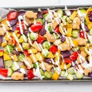 Dr. Praeger's Easy Sheet Pan Meal with Fishies