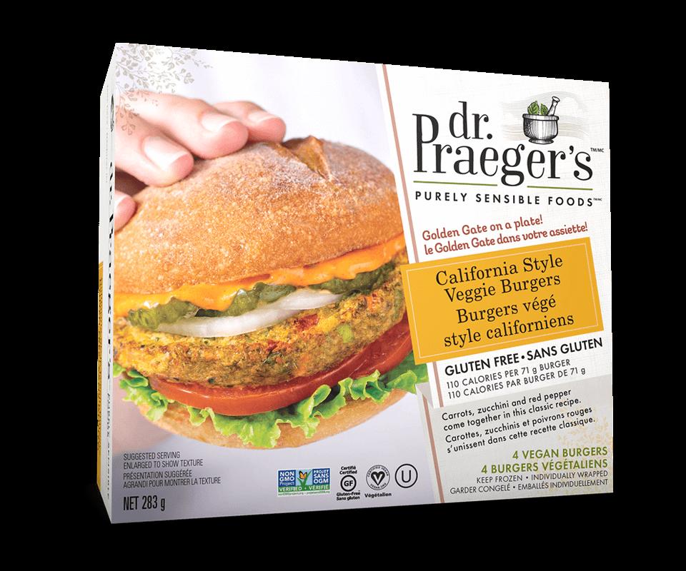Dr. Praeger's Canada California Gluten Free Veggie Burgers