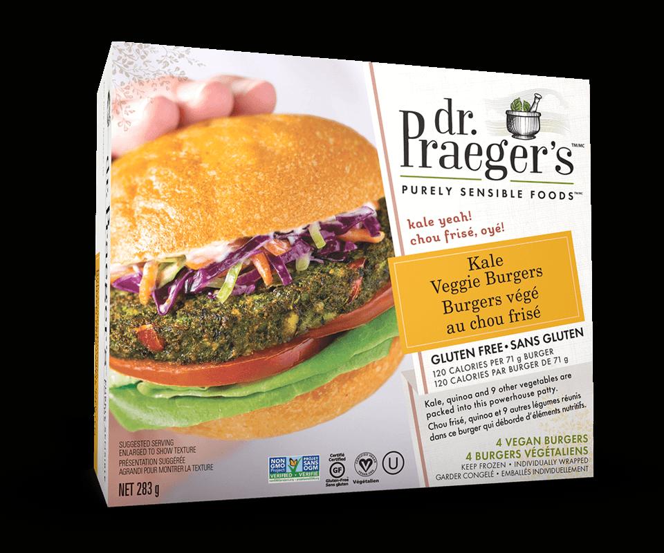 Dr. Praeger's Canada Kale Veggie Burgers