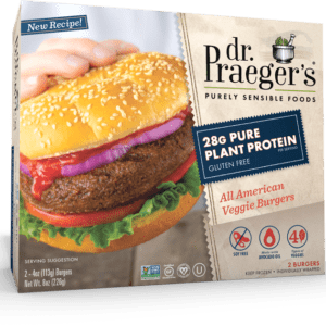 Dr. Praeger's Pure Plant Protein All American Veggie Burgers