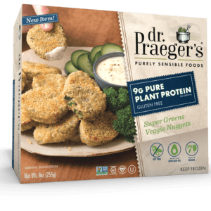 Dr. Praeger's Pure Plant Protein Super Greens Veggie Nuggets