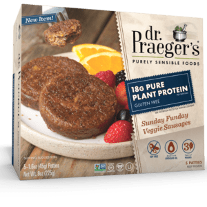 Dr. Praeger's Pure Plant Protein Sunday Funday Veggie Sausages