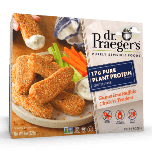 Dr. Praeger's Pure Plant Protein Gametime Buffalo Chick'n Tenders Package