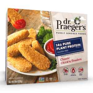 Dr. Praeger's Pure Plant Protein Classic Chick'n Tenders Package