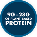 our vegan frozen foods contain up to 28g of pure plant-based protein