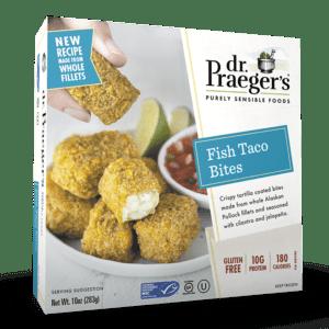 Dr. Praeger's Fish Taco Bites Package