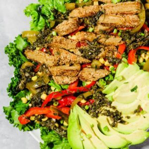 Dr. Praeger's Vegan Chick'n Tenders Fajita Salad