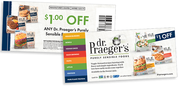 Dr. Praeger's RD Coupon Image