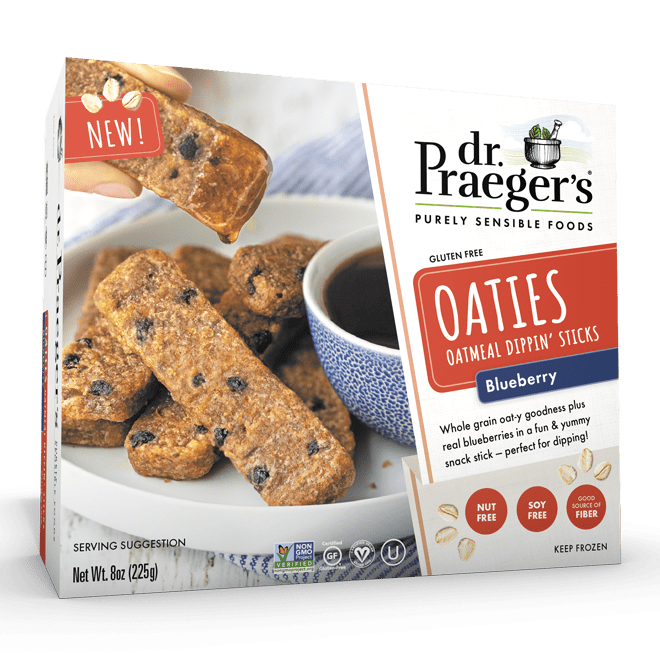 Dr. Praeger's Blueberry Oaties Product Shot