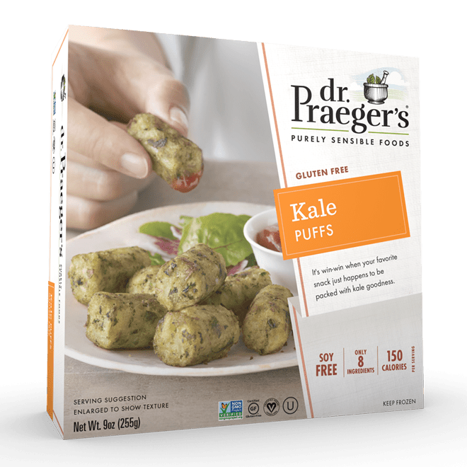 Dr. Praeger's Kale Puffs Package