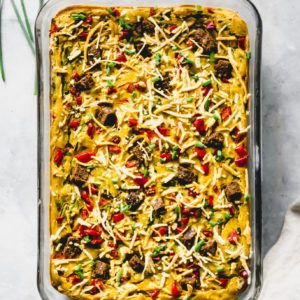 Vegan Breakfast Casserole
