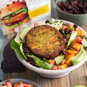 California Veggie Burger Burrito Bowl