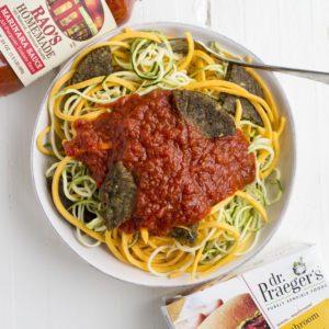 Veggie Noodle & Marinara Bowl
