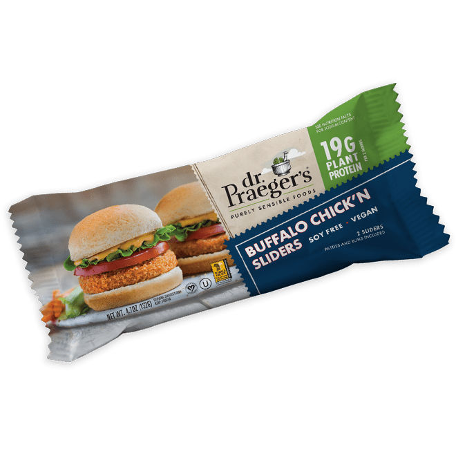 Dr. Praeger's Buffalo Chickn Sliders Product Image