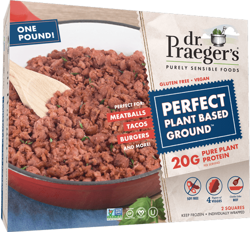 Dr. Praeger's plant based ground beef alternative