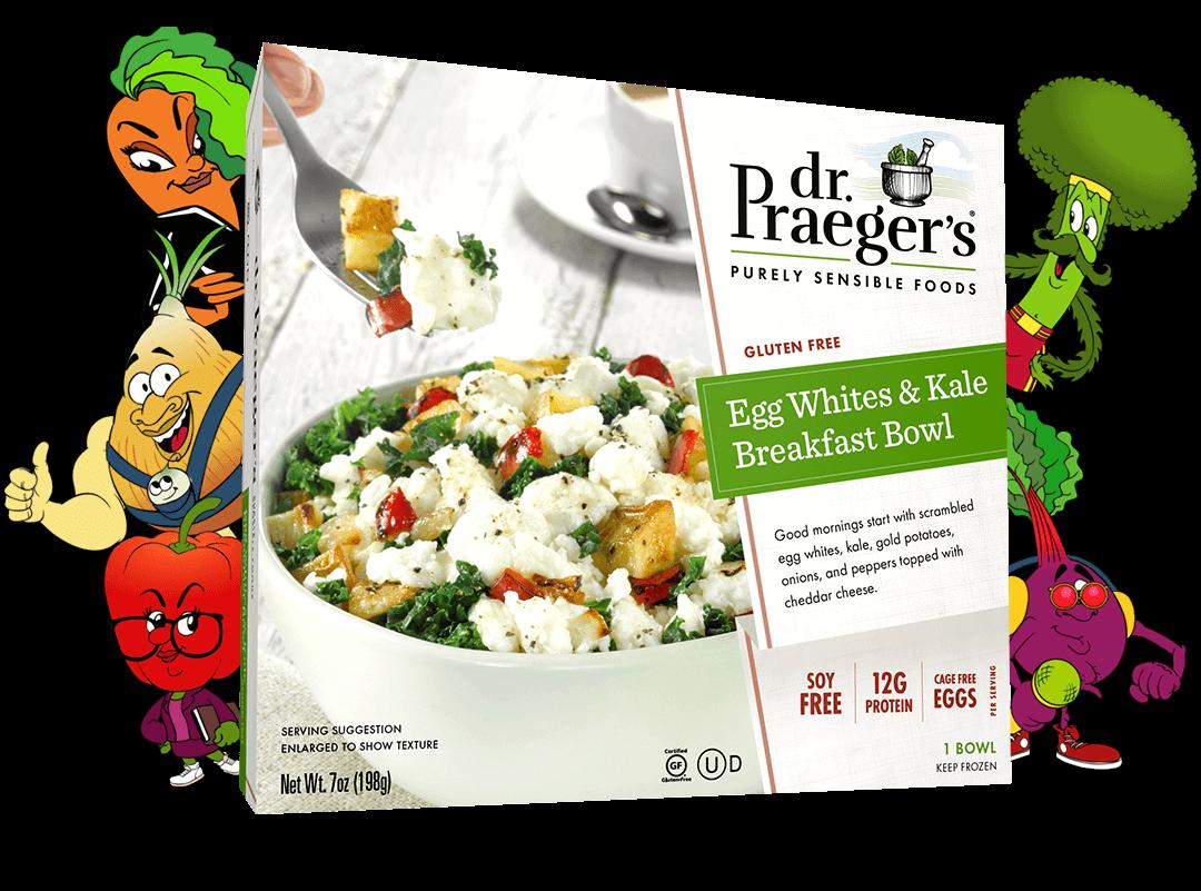 Dr. Praeger's Egg Whites & Kale Breakfast Bowl Package