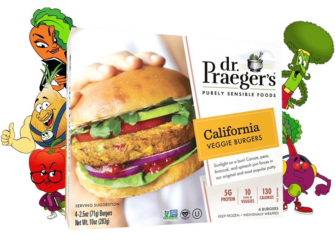 Dr. Praeger's California Veggie Burger Package
