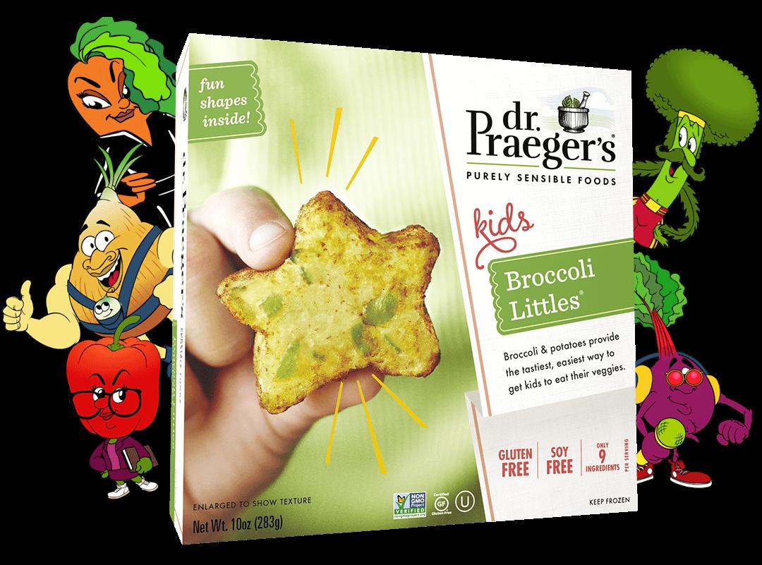 Dr. Praeger's Broccoli Littles Package