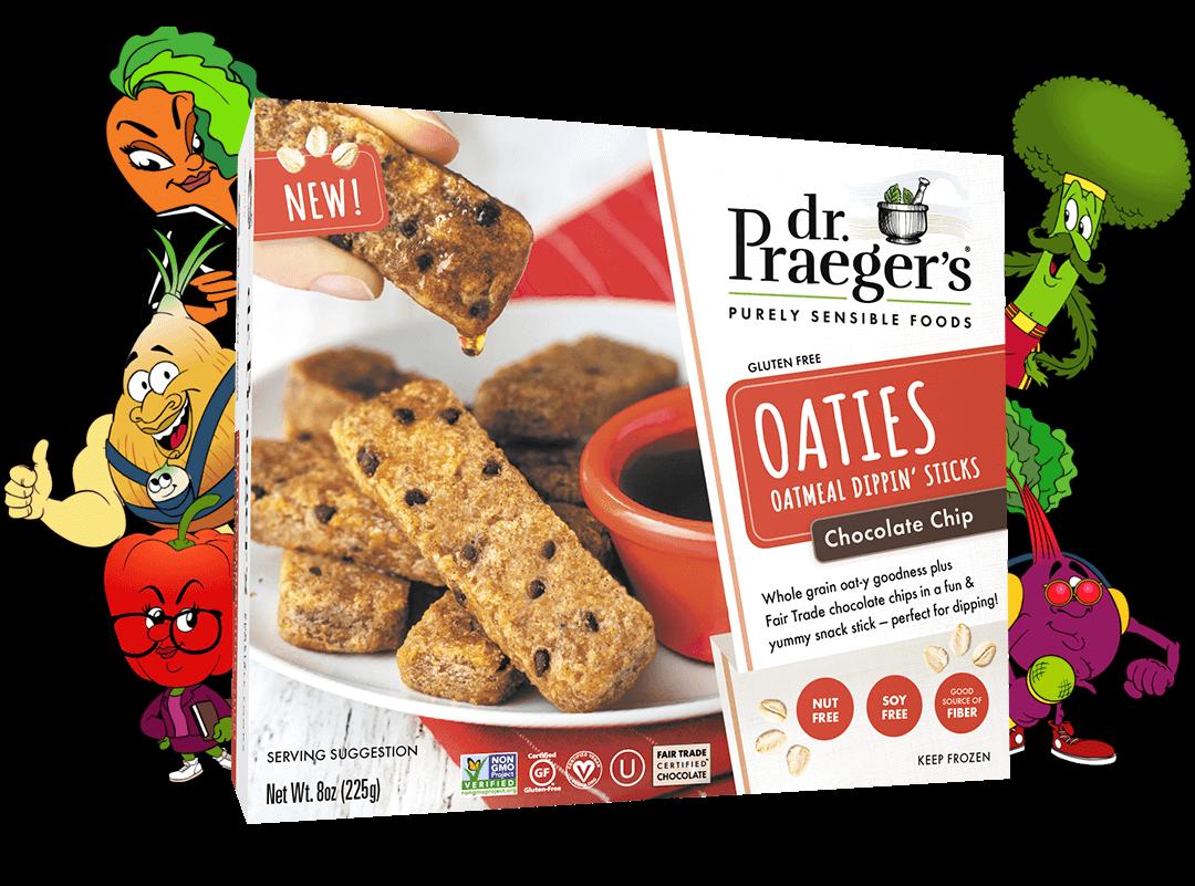 Dr. Praeger's Chocolate Chip Oaties Package