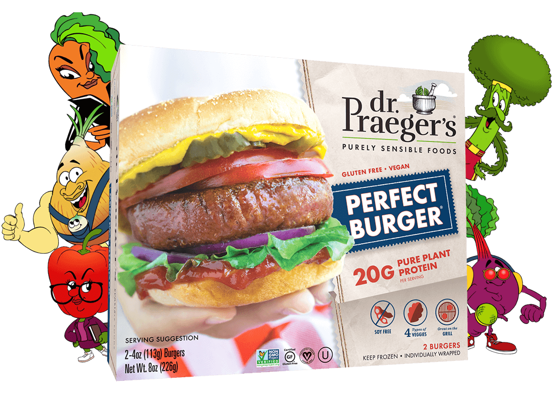 Dr. Praeger's Perfect Burger Package