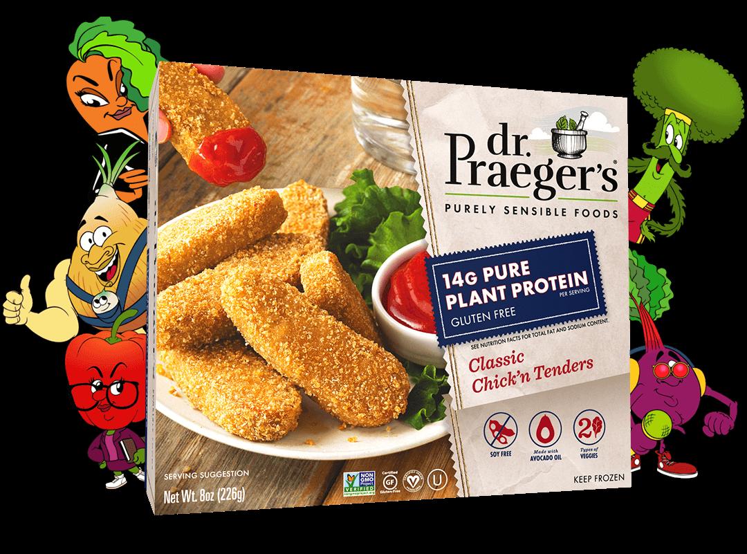 Dr. Praeger's Classic Chick'n Tenders Package