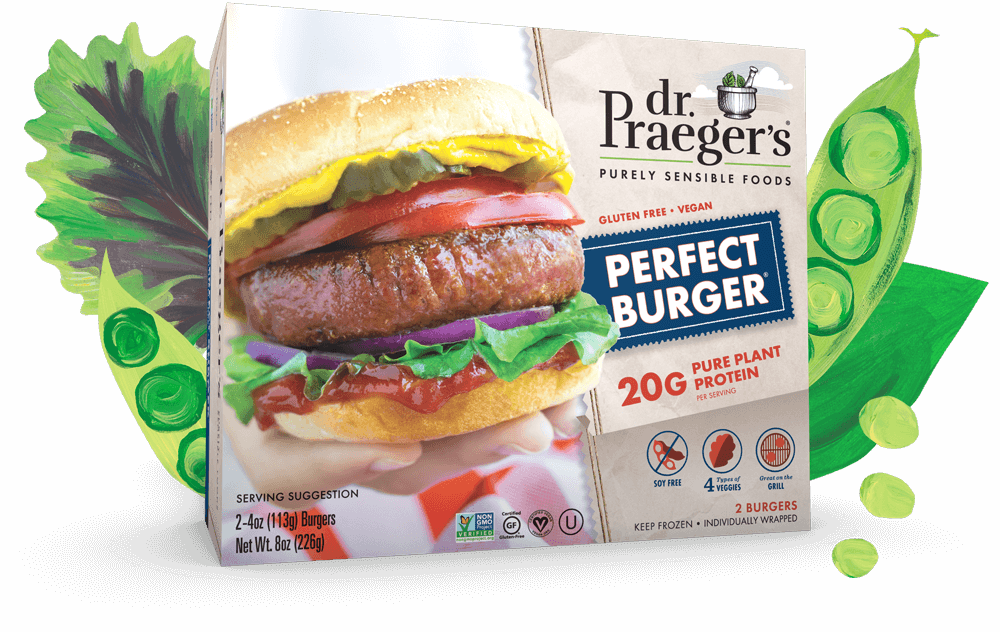Dr. Praeger's Perfect Burger Pure Plant Protein