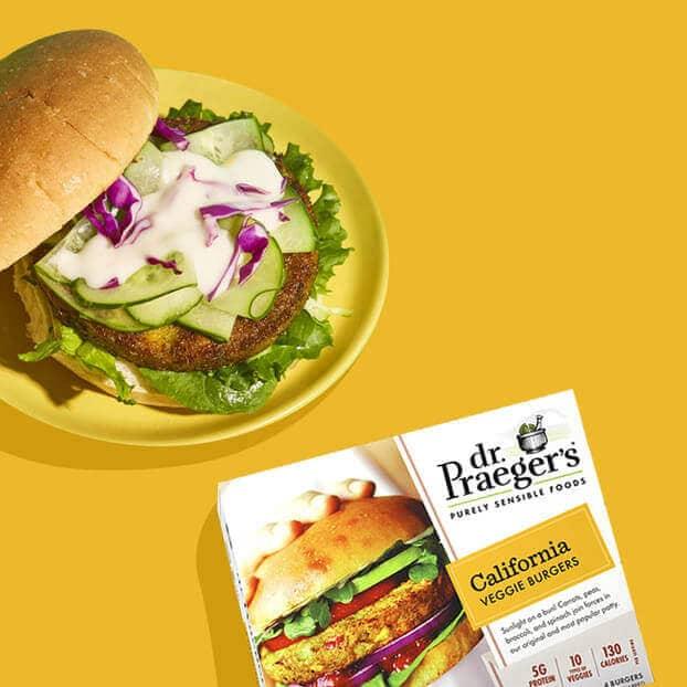 Dr. Praeger's Veggie Burger Image