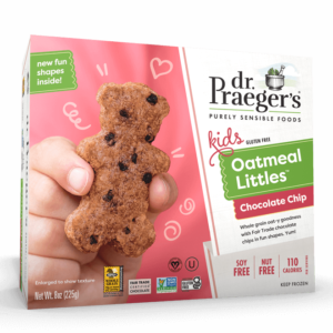 Dr. Praeger's Chocolate Chip Oatmeal Littles Package Image